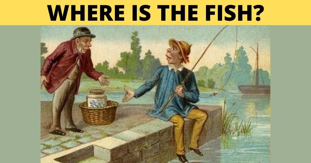 smalljoys 31.jpg?resize=1200,630 - The Fisherman's Freshly-Caught Fish Suddenly Disappeared! Can You Help Him Find It?