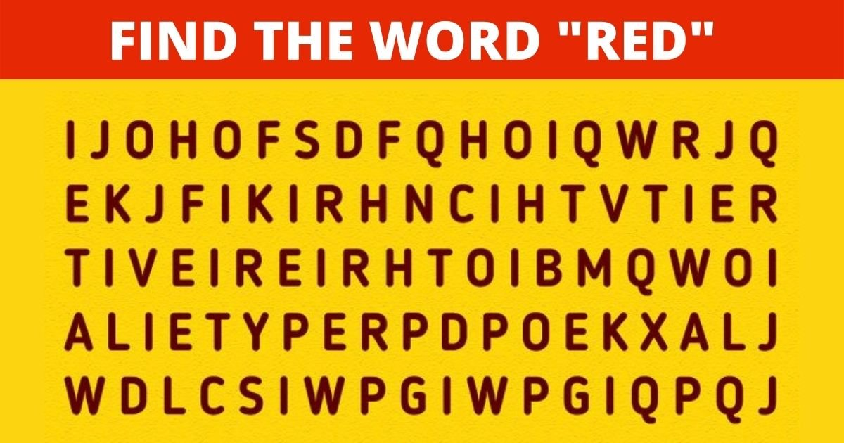 """smalljoys 41.jpg?resize=1200,630 - How Fast Can You Find the Word """"RED"""" In This Visual Puzzle?"""