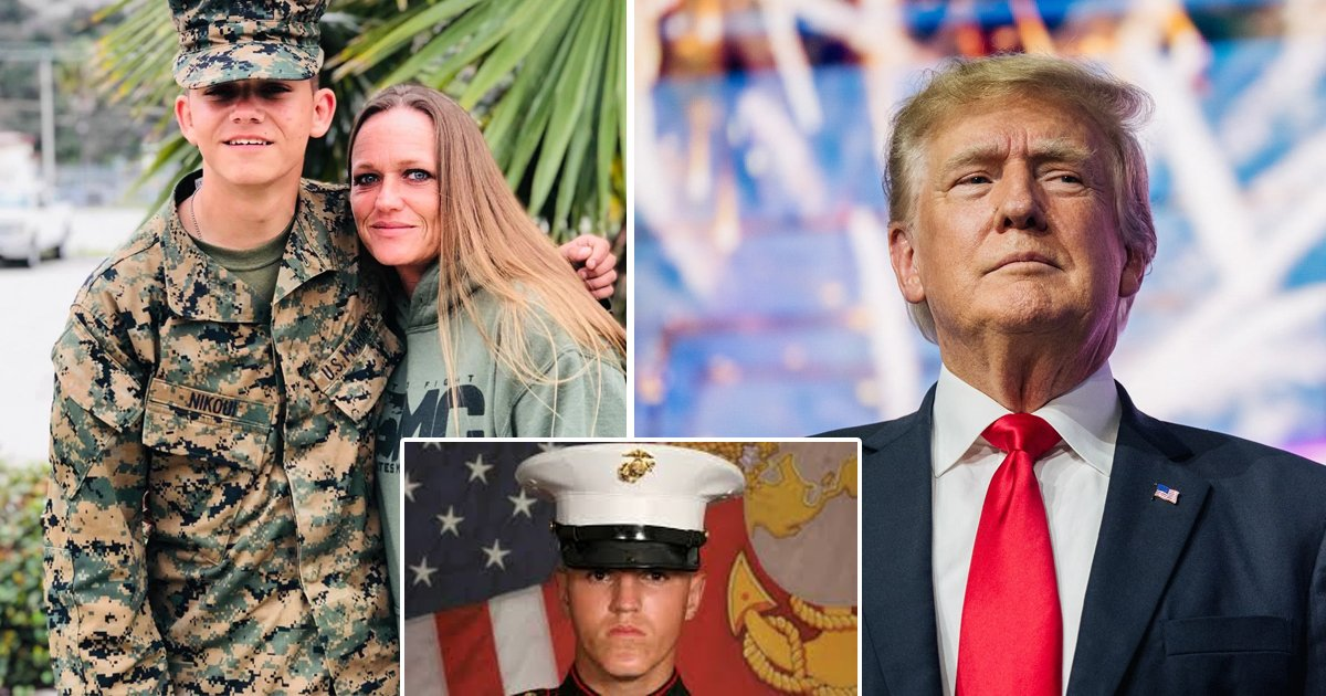 """t1 99.jpg?resize=1200,630 - """"It Would Be An Honor To Meet The REAL President, NOT Biden""""- Mother Of Marine Killed In Kabul Invites Trump To Son's Funeral"""