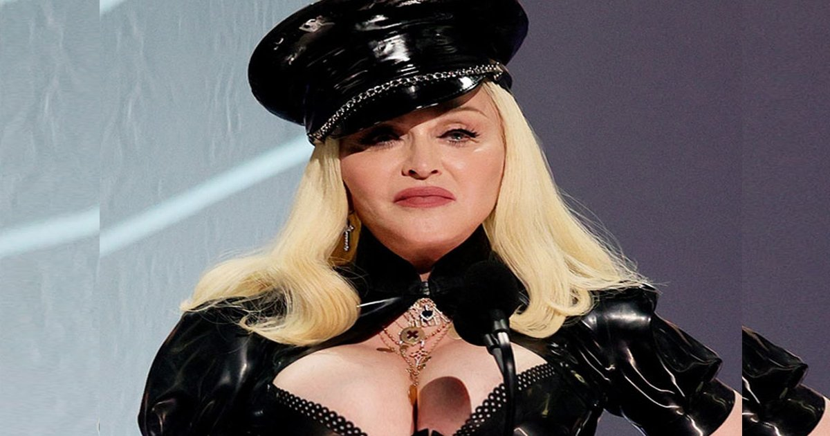 t3 2021 09 14t233100 313.jpg?resize=1200,630 - Madonna Branded As 'Cringe' For Rocking VMAs In All-Black Leather Dominatrix Outfit