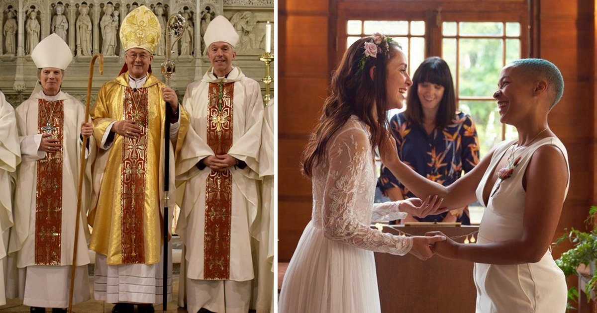t3 98.jpg?resize=1200,630 - Church Passes Historic Vote That Allows 'Same-Gender' Couples To Have Their Marriages Blessed