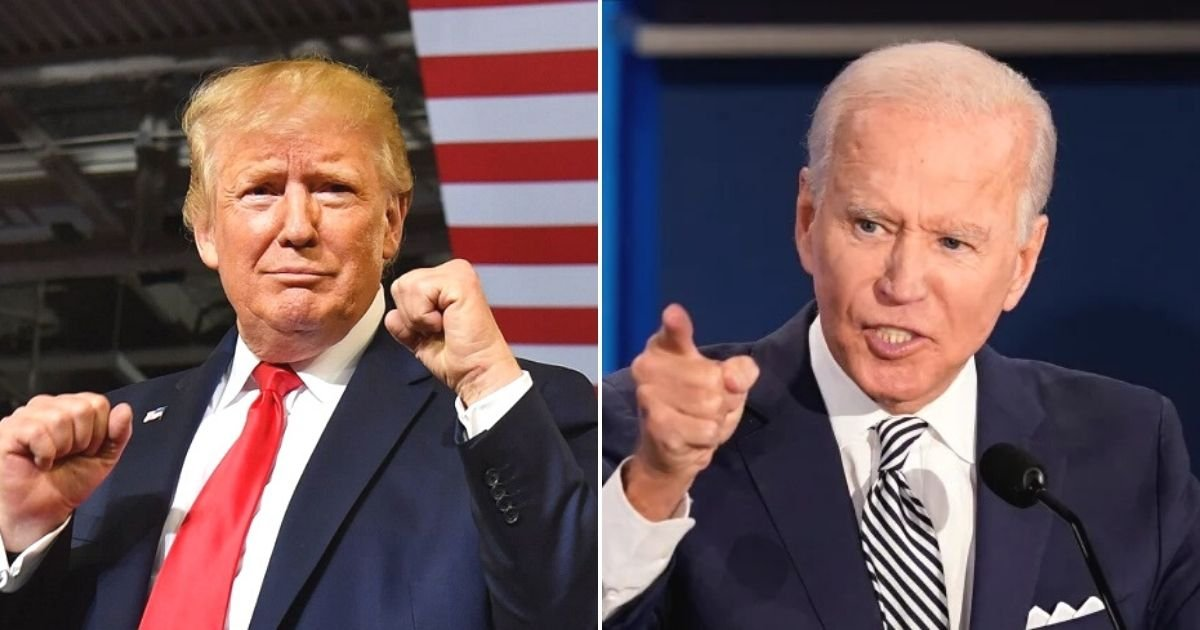 untitled design 18.jpg?resize=1200,630 - Donald Trump Wants To Challenge Joe Biden To A Boxing Match Because He Would 'Go Down Within The First Few Seconds'