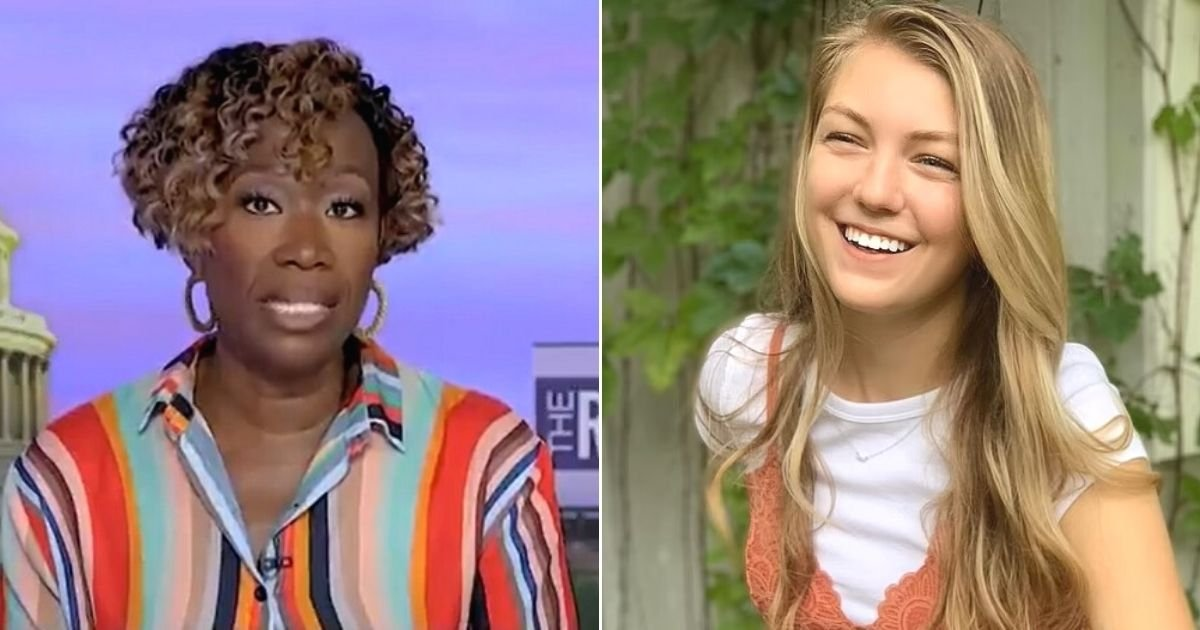 untitled design 47.jpg?resize=1200,630 - TV Host Joy Reid Slams The Media For Focusing On Gabby Petito Due To 'Missing White Woman Syndrome'