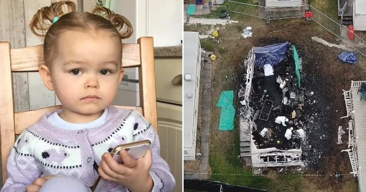 untitled design 58.jpg?resize=1200,630 - Bright Little Girl Dies Of Smoke Inhalation After Fire Breaks Out At A Caravan Park