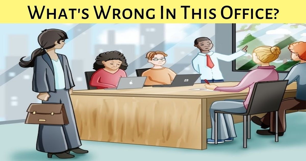 whats wrong in this office.jpg?resize=1200,630 - This Image Is Full Of Errors! How Many Can You Find In Just 30 Seconds?