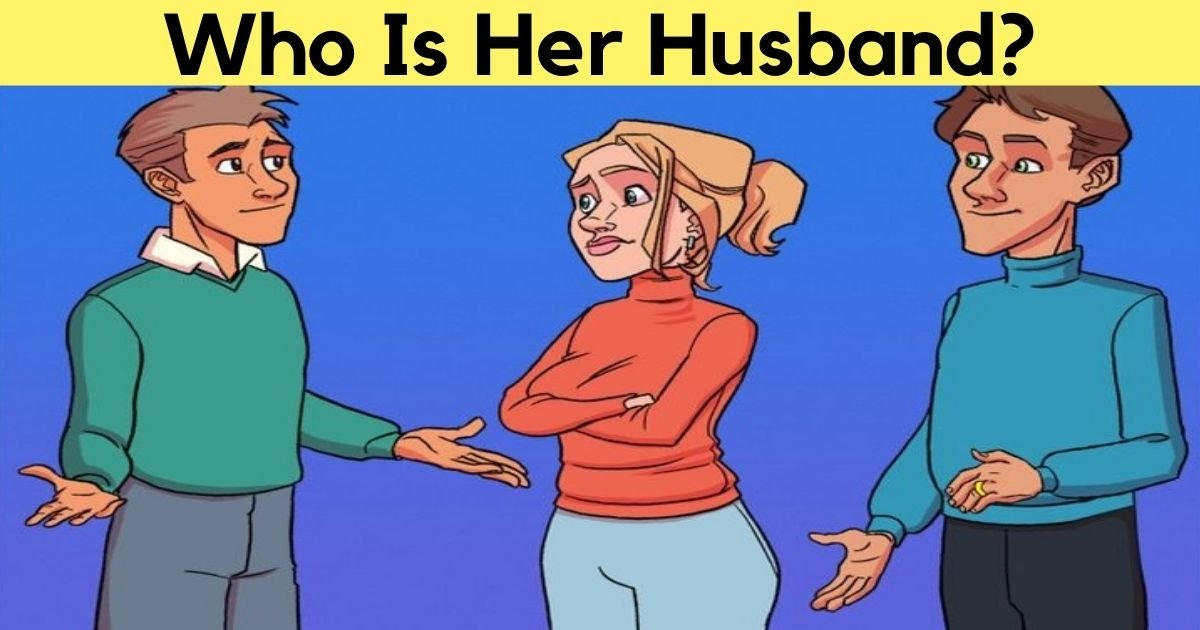 who is her husband.jpg?resize=1200,630 - Can You Find Out Who Is The Woman's Husband By Taking One Look At This Picture?