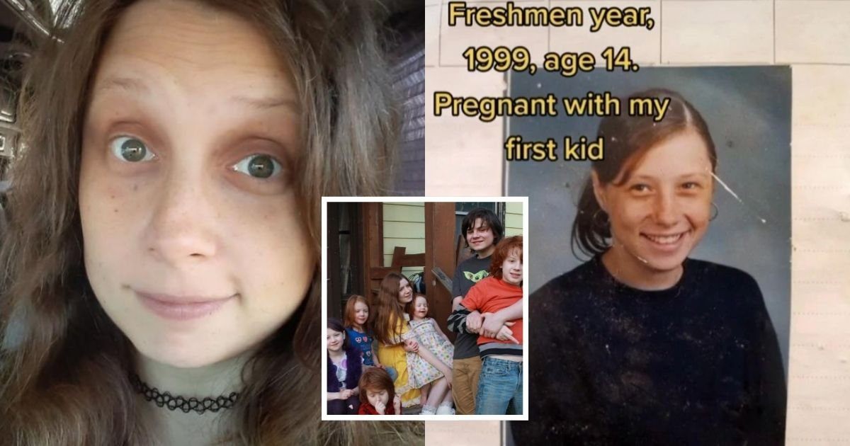 1 37.jpg?resize=1200,630 - Mom Who First Got Pregnant At 14-Years-Old Is Now Expecting Her 12th Child, Adding That She Would Like To Have A Total Of 17 Kids