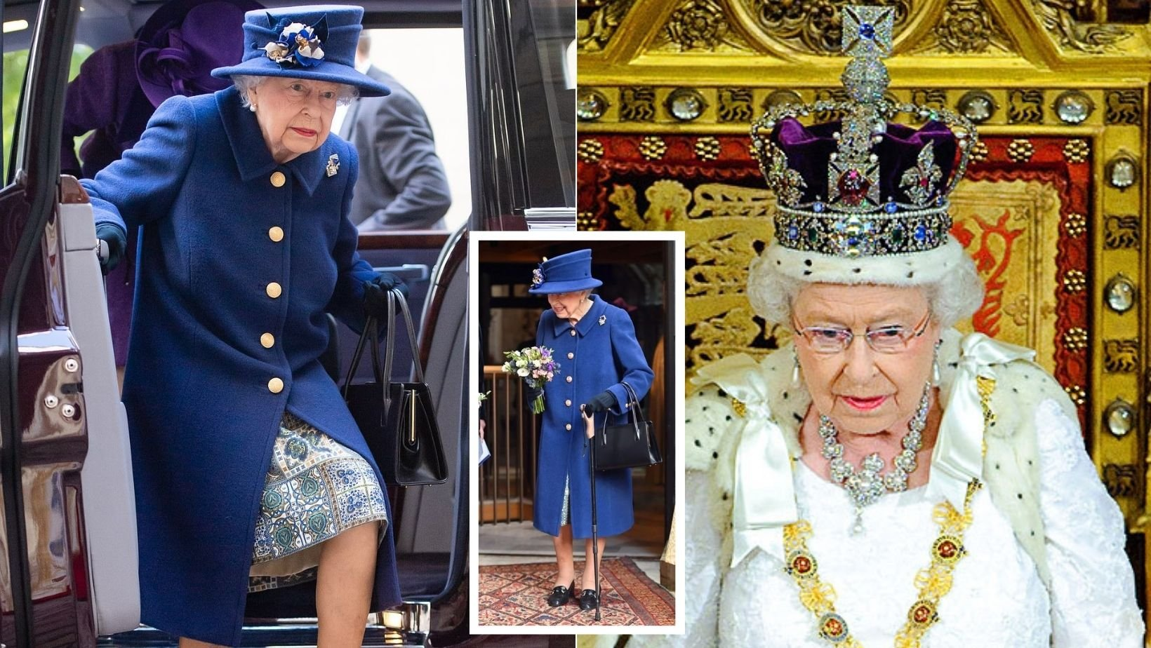 1 42.jpg?resize=1200,630 - The Queen Was Seen Using A Walking Stick For The FIRST TIME In 20 Years During A Public Event