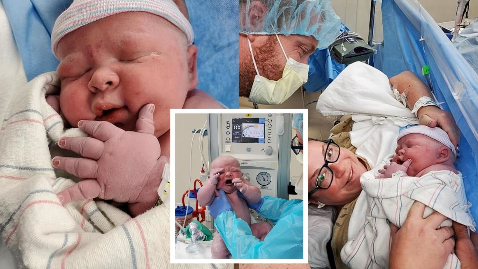 1 60.jpg?resize=412,232 - Arizona Mother Gives Birth To A Huge Baby Boy Who Weighs TWICE THE SIZE Of An Average Newborn!