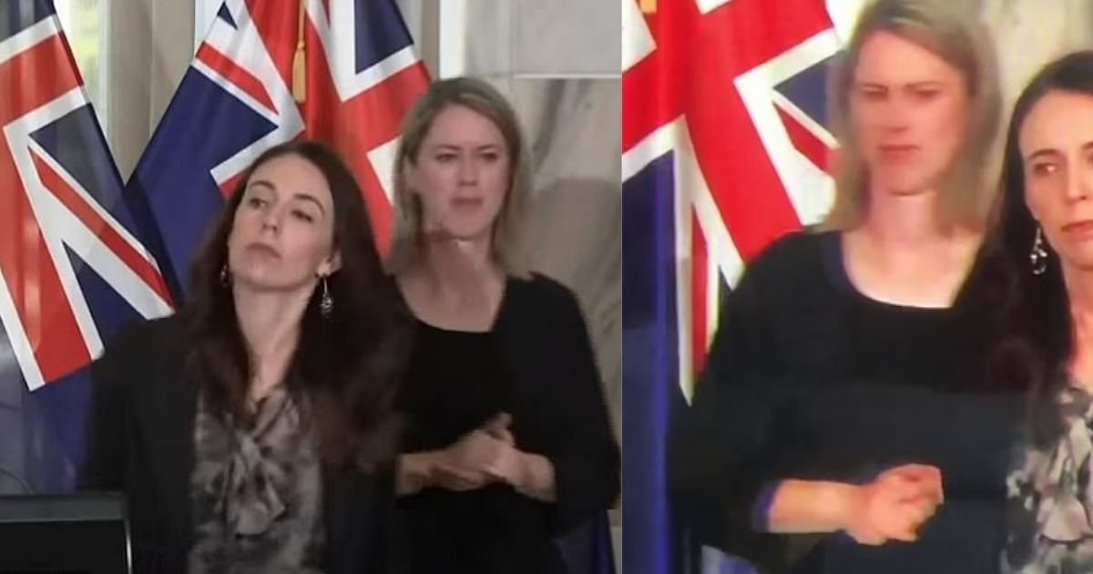 1 81.jpg?resize=412,275 - Jacinda Ardern Faces Heavy Backlash After Pushing Sign Language Interpreter Out Of The Way During Press Conference