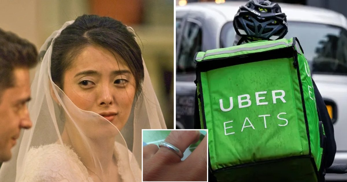 33 1.jpg?resize=1200,630 - Mom FURIOUS As Uber Eats Driver Finds Lost Wedding Ring But REFUSES To Return It
