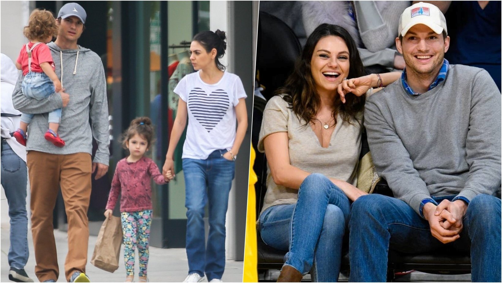 6 facebook cover 26.jpg?resize=412,275 - Mila Kunis Reveals That Ashton Kutcher Disagreed With Her Parenting When She Encouraged Their Daughter To Push Another Kid