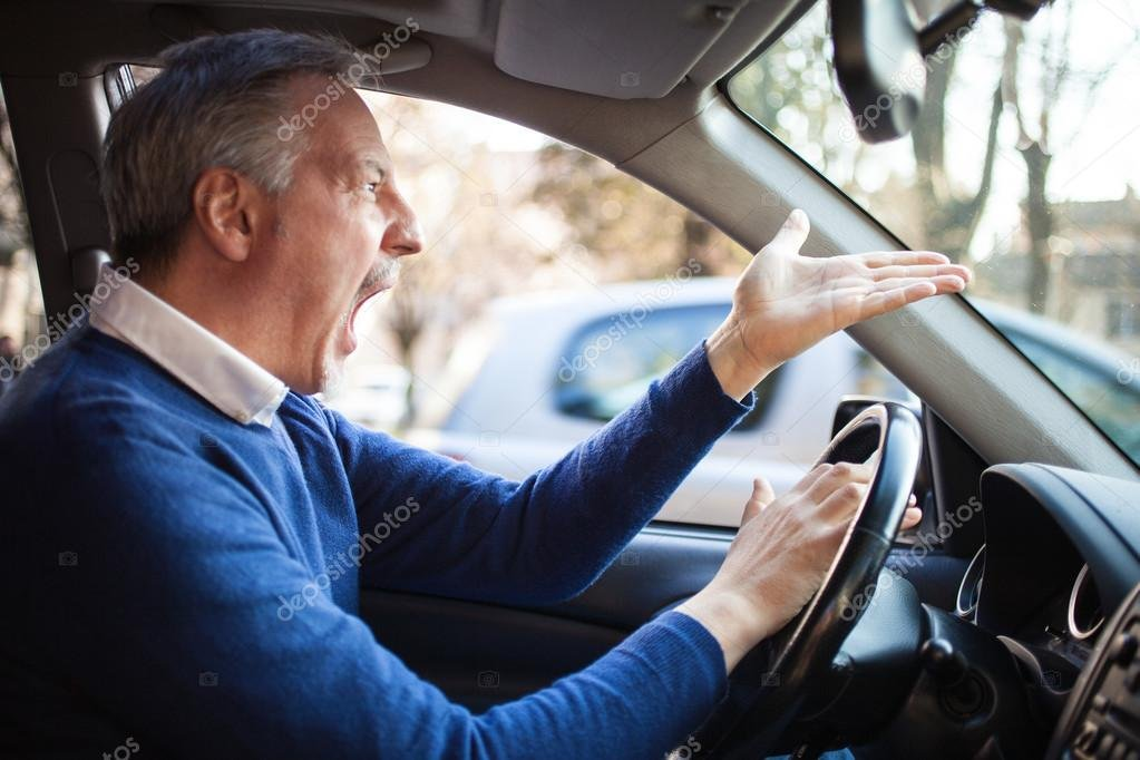 Angry driver Stock Photos & Royalty-Free Images | Depositphotos