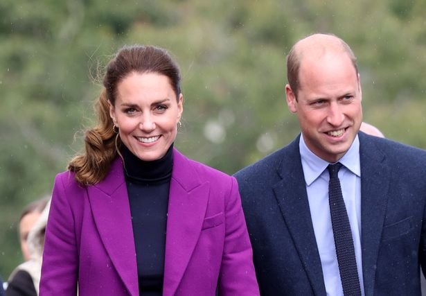 William with wife Kate Middleton