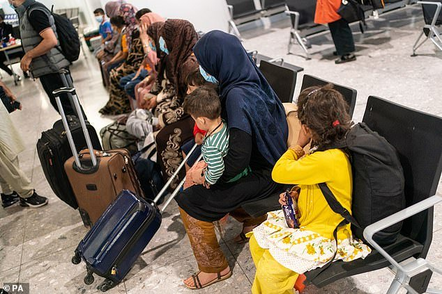 Hundreds of refugees arrived in the UK as part of Operation Warm Welcome, the government