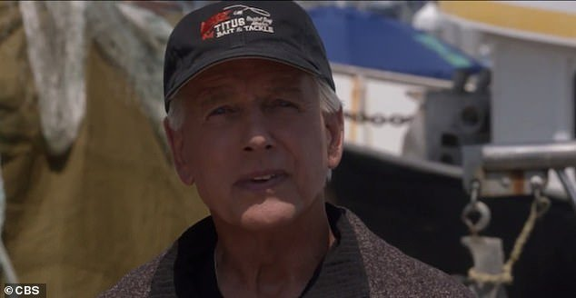 Exit:After months of rumors about his 19th season on NCIS, Mark Harmon