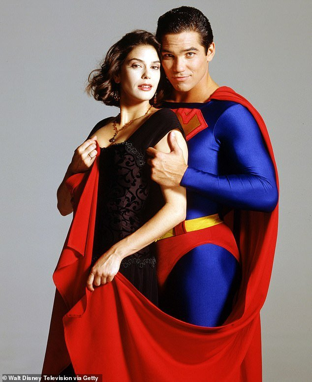Throwback: The 55-year-old actor played the part of Superman for four years in the hit 90s TV series Lois & Clark: The New Adventures of Superman alongside Teri Hatcher as Lois Lane
