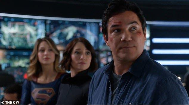 The actor starred in the CW series Supergirl, in which he played the part of the superhero