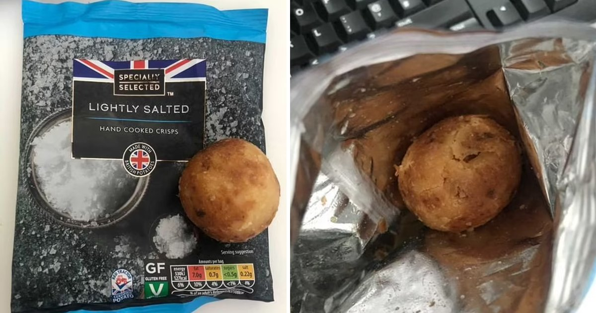 82.jpg?resize=412,232 - Soggy Potato Instead Of Salted Crisps! Woman Was Startled To Find Out A Whole Potato In A Bag Of Crisps