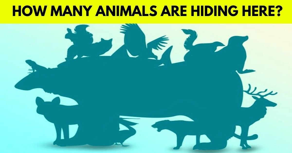 animals 1.jpg?resize=1200,630 - Brain Test: How Many Animals Are Hiding In This Picture? Can You Correctly Guess The Answer?