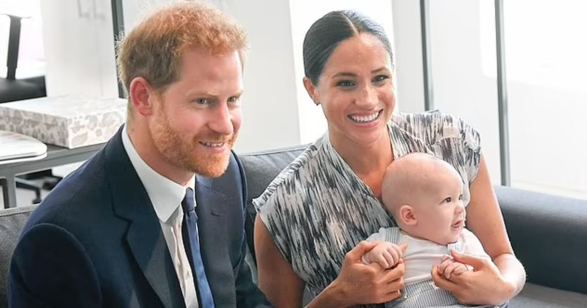 archie4.jpg?resize=1200,630 - Mystery Royal Who Asked Meghan And Prince Harry About Their Archie's Skin Color Was 'Just Being Realistic,' Says John Barnes