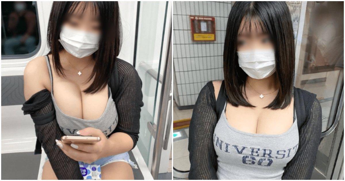 collage 10.png?resize=1200,630 - 갑자기 SNS에 우리나라 지하철에서 사진 찍은 모습 공개해 완전 난리 난 일본 유명 인플루언서