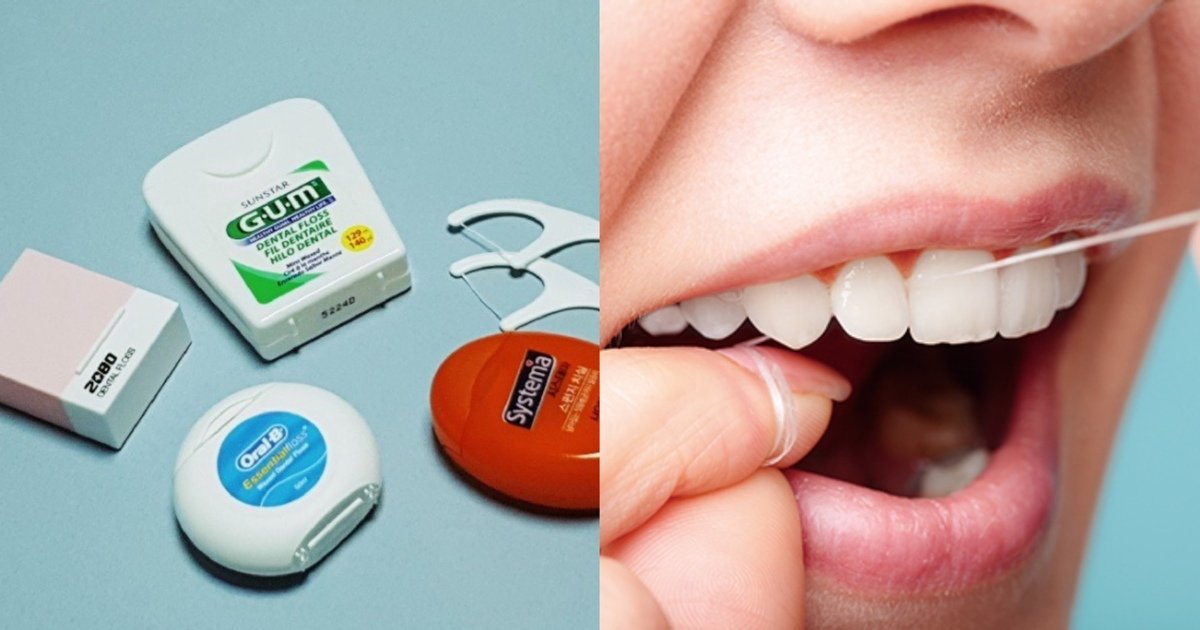 "ecb998ec8ba4 1.jpg?resize=1200,630 - ""꼭 이렇게 하세요""...치실 처음 사용하는 사람들이 잘 모르는 제대로 치실을 사용하는 방법(+사진)"