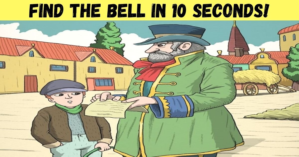 find the bell in 10 seconds.jpg?resize=1200,630 - 90% Of People Couldn't Find The Hidden Bell In This Pic - But Can You Spot It?