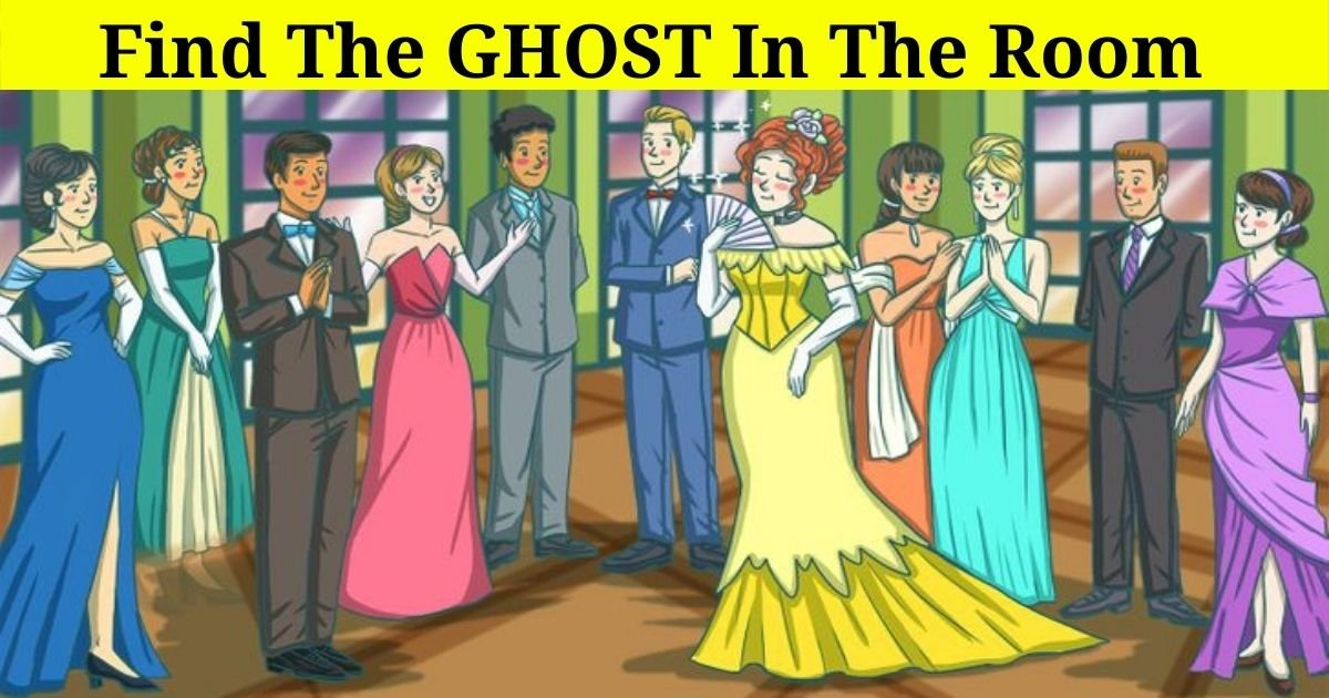 ghost4.jpg?resize=412,275 - 9 Out Of 10 People Can't Find The Ghost In The Room! But Can You Figure Out Who It Is?