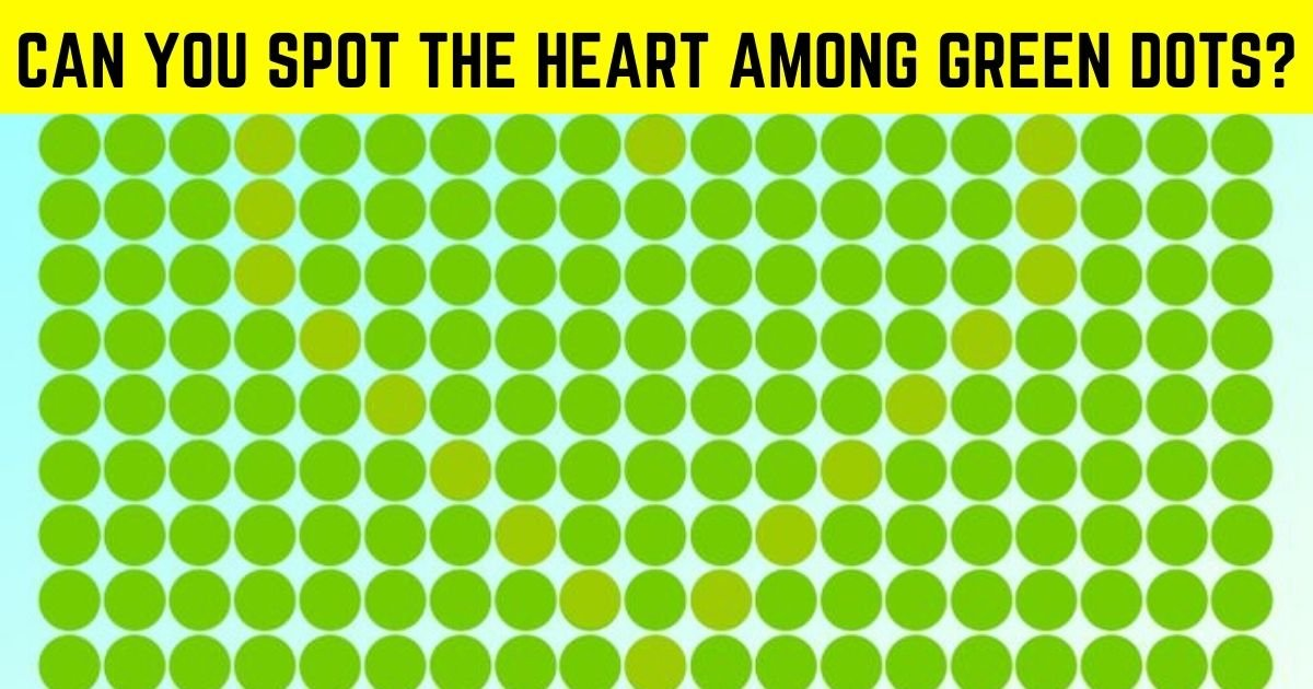 heart3.jpg?resize=412,232 - There Is A Heart In The Green Dots! How Fast Can You Find It?