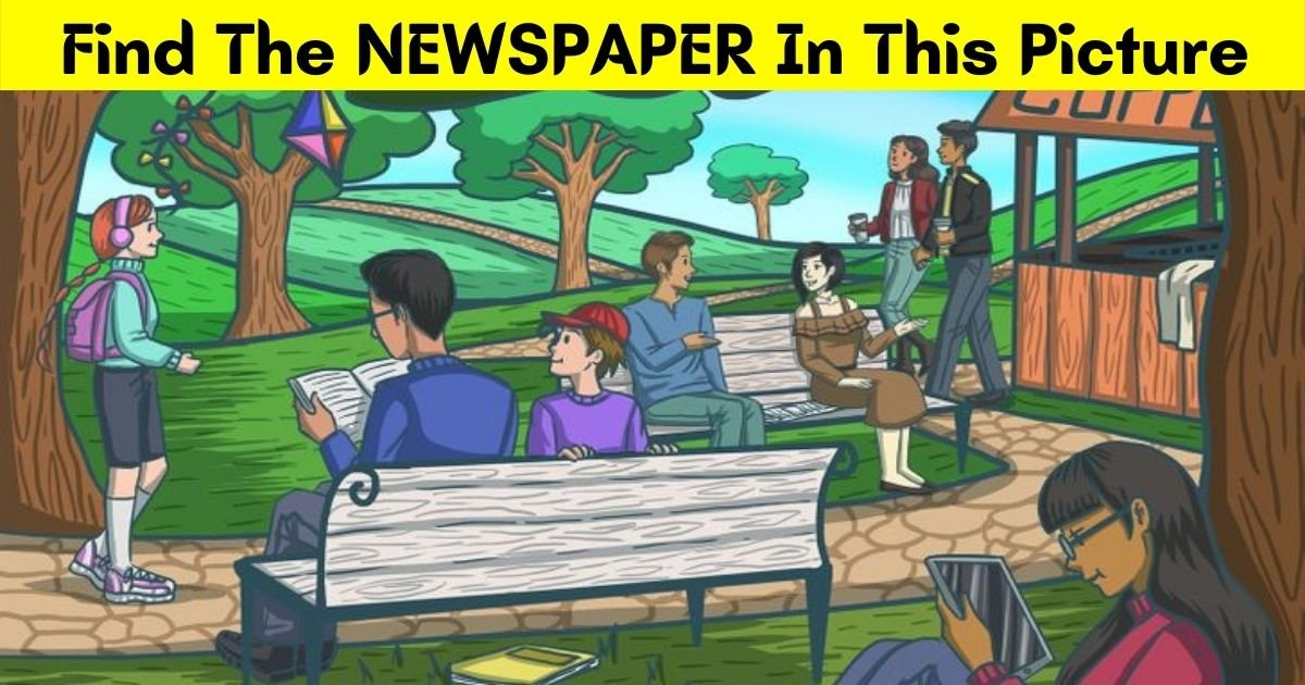 newspaper4.jpg?resize=412,232 - 9 Out Of 10 Viewers Can't Find The Newspaper In This Picture! Can You Spot It?