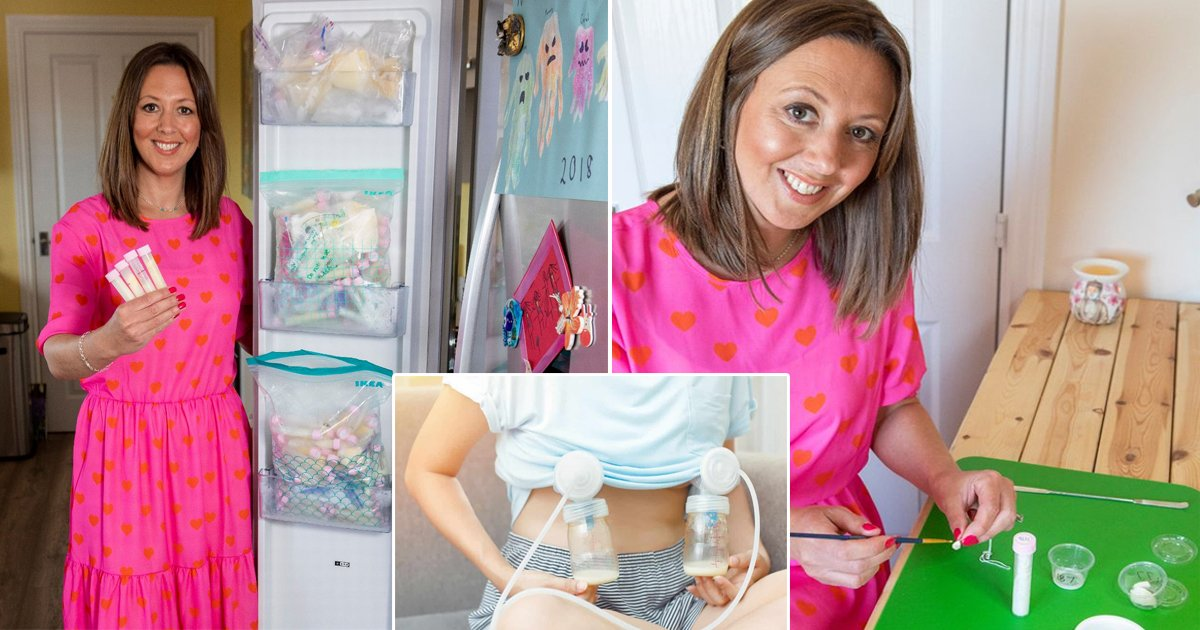 q1 3.jpg?resize=1200,630 - Meet The Mom Who Makes Jewelry From Breastmilk, Placentas, Umbilical Cords, & People's ASHES Too