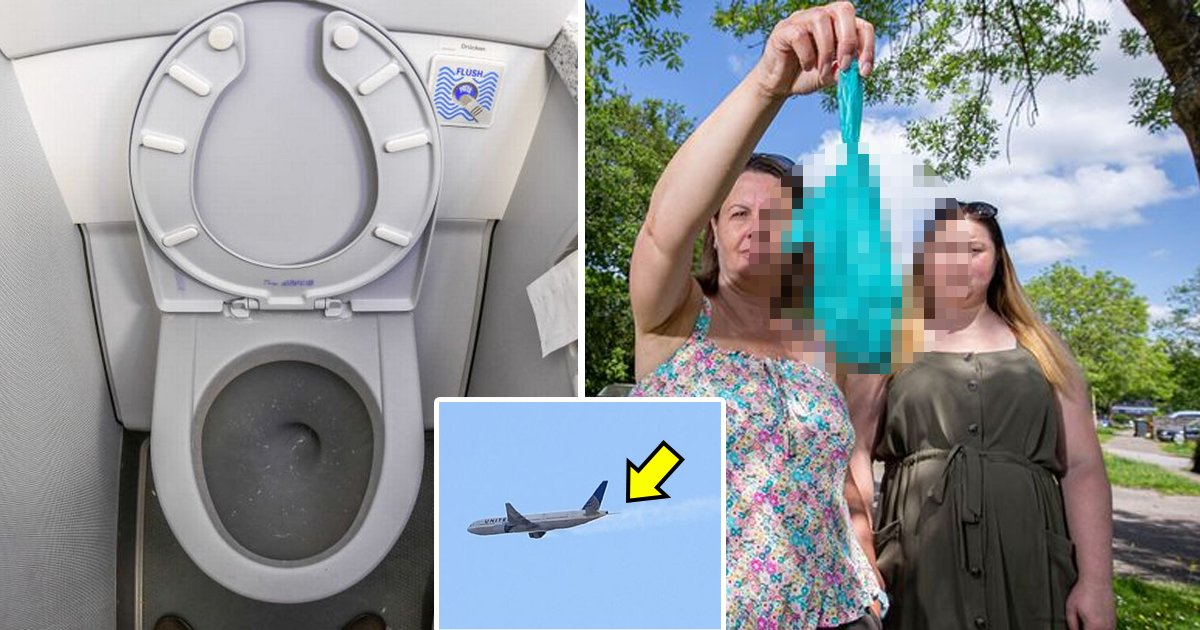 q2 5 1.jpg?resize=412,232 - Outrage As Family 'Splattered In Unpleasant Way' After Plane DUMPS 'Human Waste' On Them