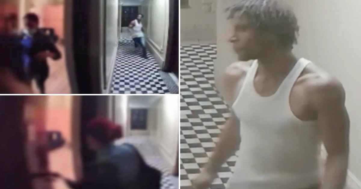 q3 5.jpg?resize=1200,630 - New Footage Shows Woman 'Barely' Escaping Creepy Stalker Who Followed Her Home & Almost Entered Apartment In Bronx