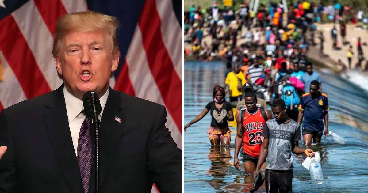 q5 1 1.jpg?resize=1200,630 - Trump Claims Haitian Migrants Entering The US Will Soon Prove To Be A 'Big Problem'
