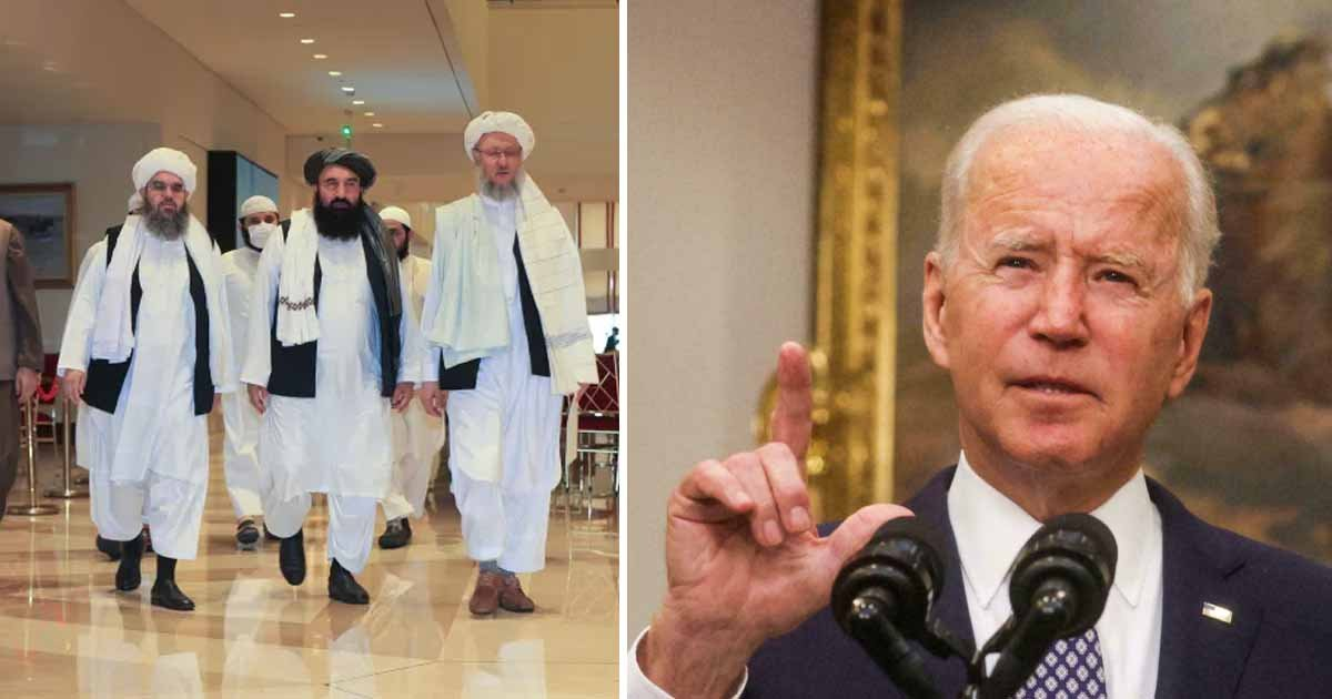 q7 2 1.jpg?resize=412,232 - US & Taliban CONFIRM Face-To Face Meeting For The First Time Since American Pullout From Afghanistan