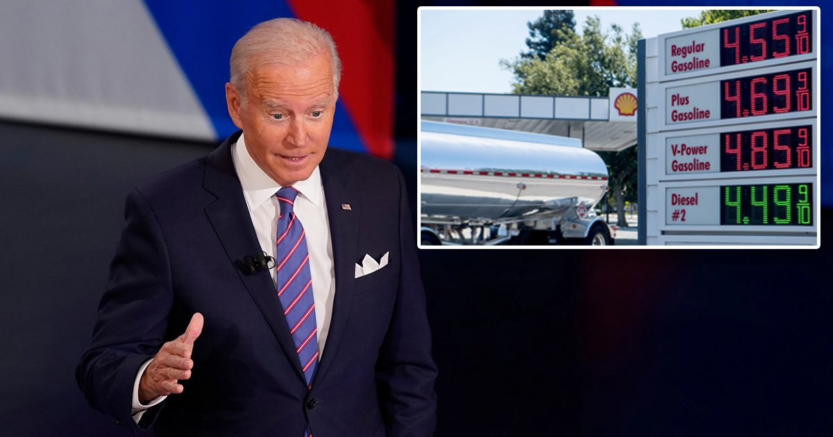 """q7 6.jpg?resize=412,232 - """"I Don't Have ANY Solution For High Gas Prices!""""- Biden Startles Citizens After Confirming NO Relief To Spiking Rise In Gas Rates"""