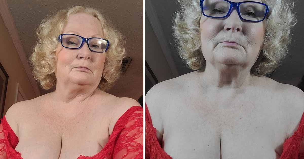 """q8 1 1.jpg?resize=1200,630 - """"I Make More Money Than I've Ever Had In My Life""""- 65-Year-Old OnlyFans Model Says Steamy Scenes With Young Volunteers Bring Her Big Bucks"""