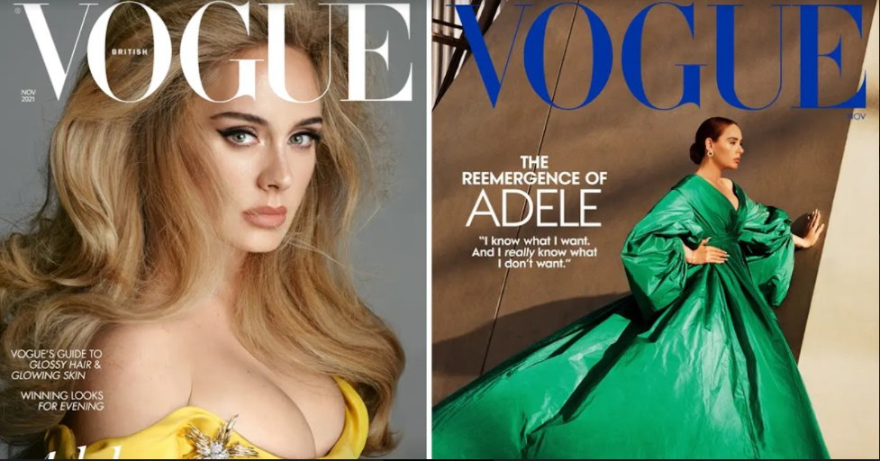 screenshot 2021 10 11 200704.png?resize=1200,630 - Adele Is Making History! First Celebrity To Appear On The Covers Of Both US And British Vogue Simultaneously