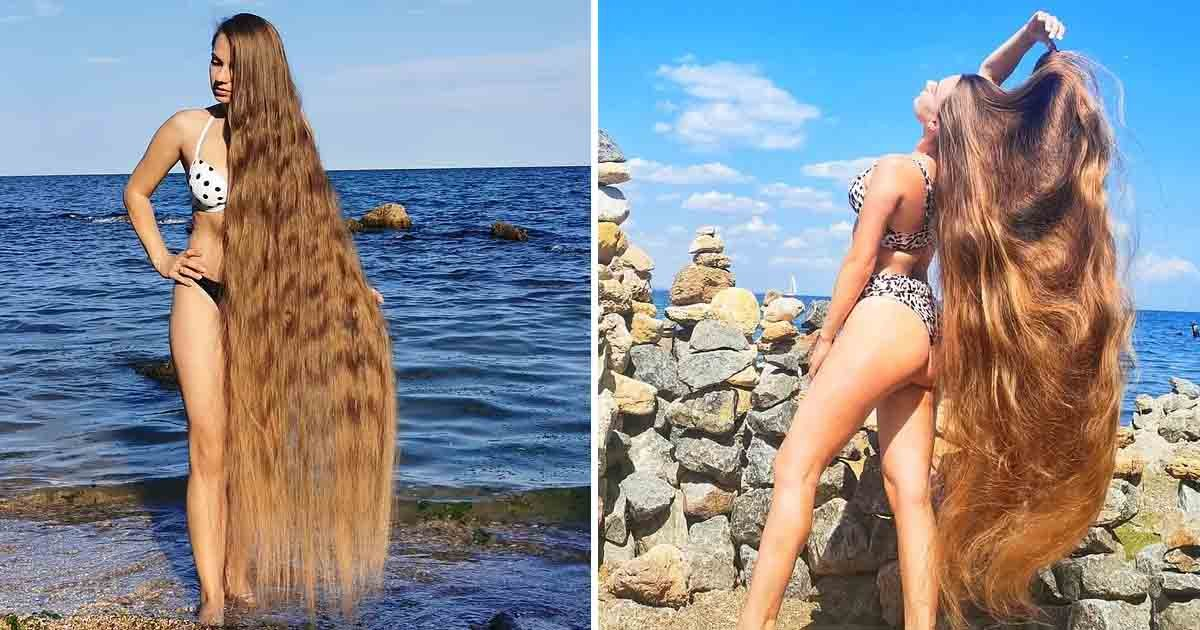 t1 1 2.jpg?resize=412,232 - Meet The 'Real-Life Rapunzel' Who Hasn't Cut Her Hair For 30 YEARS & Now They Reach Her Toes!