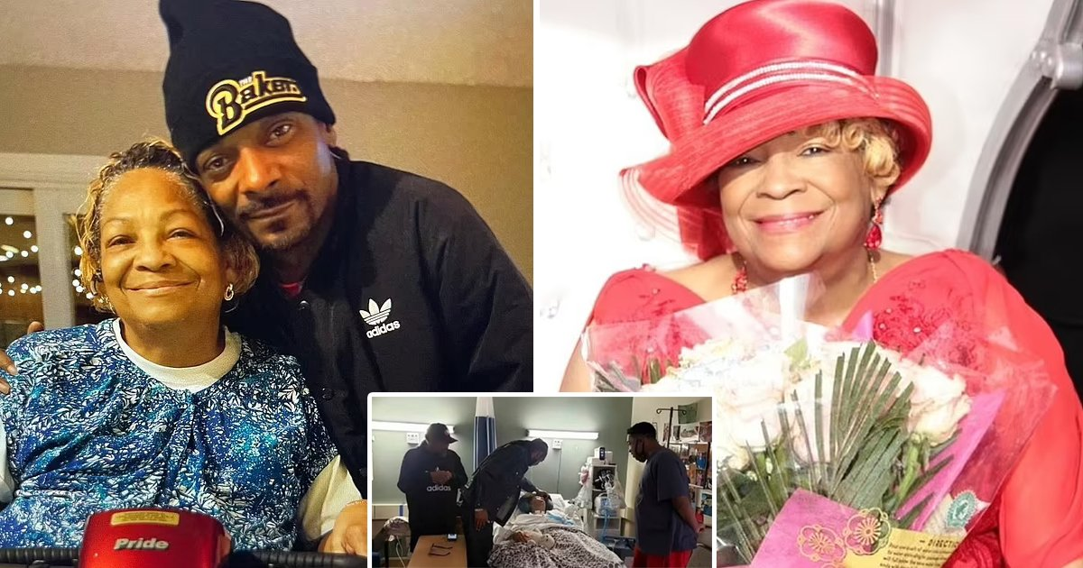 t1 7.jpg?resize=412,232 - BREAKING: Rapper Snoop Dogg Breaks Down Into Tears While Revealing His 'Angel For A Mother' Beverly Tate Has Died At The Age Of 70
