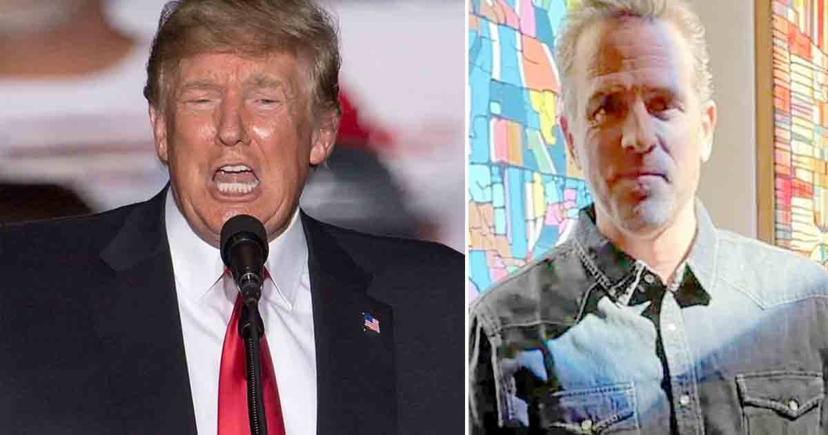 t3 1 4.jpg?resize=412,275 - Donald Trump Jokes He Could Get OVER $2M Per Canvas Thanks To Hunter Biden Who Inspired Him To Paint