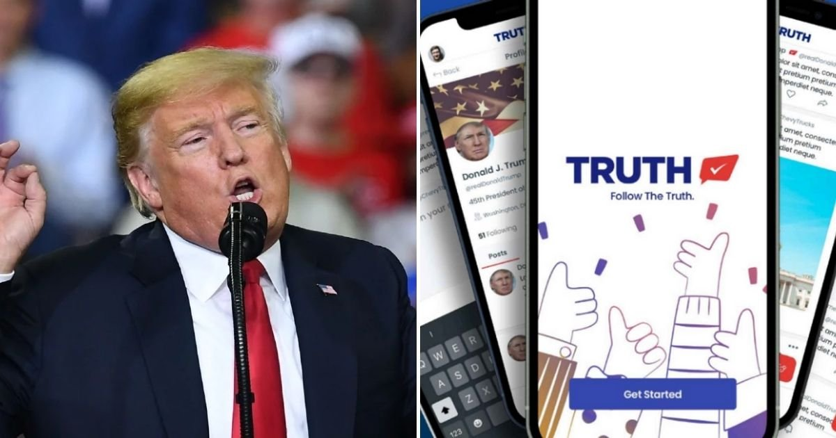 truth5.jpg?resize=412,275 - Trump's New Social Media Platform Is HACKED Before Its Official Launch And Fake Accounts Are Made Under His And Mike Pence's Name