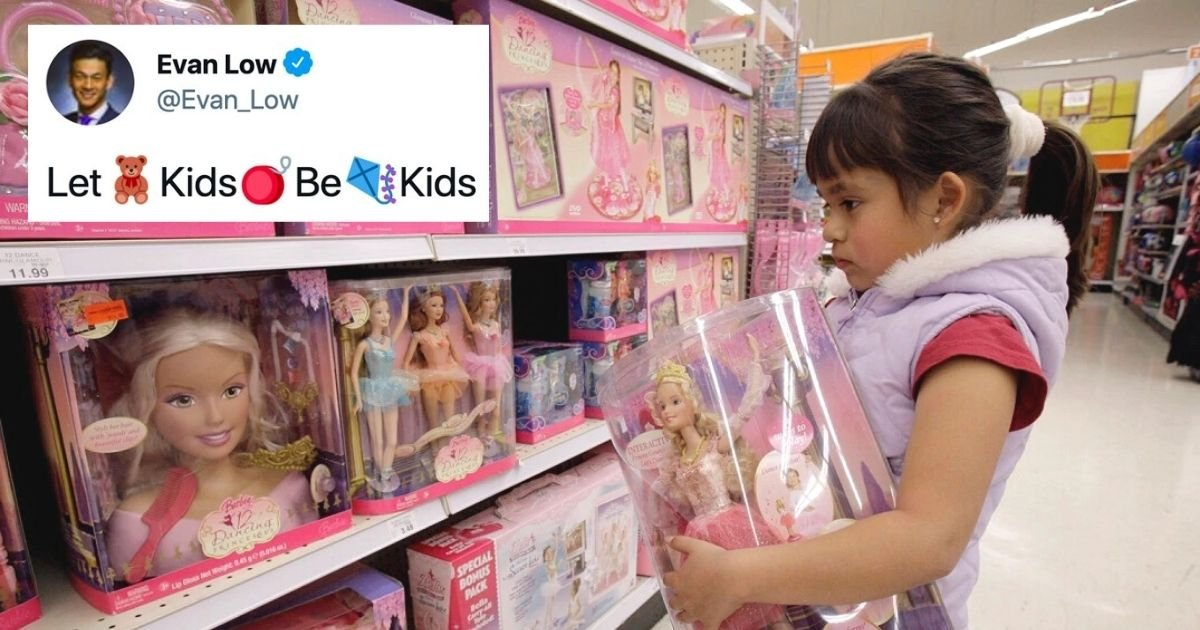 untitled design 40.jpg?resize=1200,630 - Stores Forced To Introduce Gender-Neutral Toy Aisles Under New Laws
