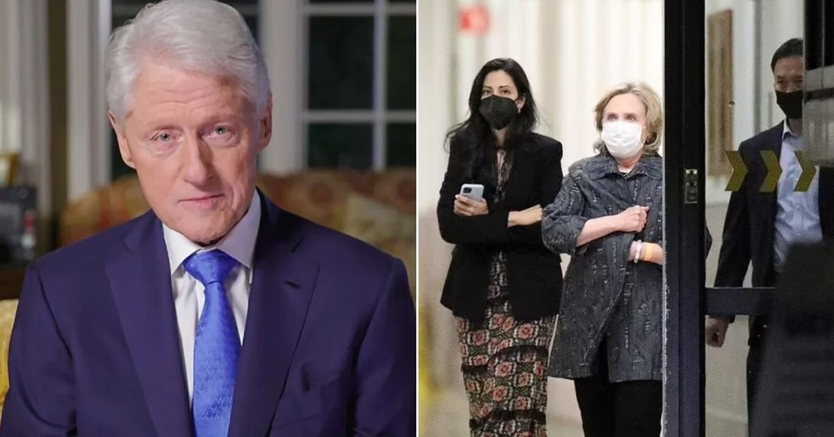 untitled design.jpg?resize=412,232 - Former President Bill Clinton Rushed To The Hospital And Admitted In The ICU After Suffering Sepsis
