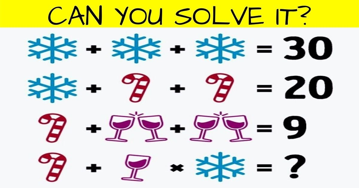 value4.jpg?resize=1200,630 - 9 Out Of 10 People FAIL To Solve This Simple Puzzle! But Can You Get The Correct Answer?