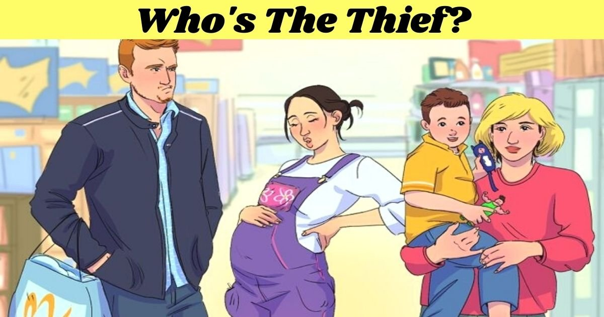 whos the thief.jpg?resize=412,232 - Can You Find Out Who The Thief Is By Taking One Look At These Suspects? Only 1 In 5 People Figured It Out!
