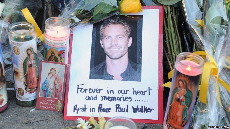 ポール・ウォーカーの追悼
